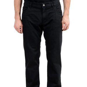 Dolce & Gabbana Black Men's Straight Leg Jeans